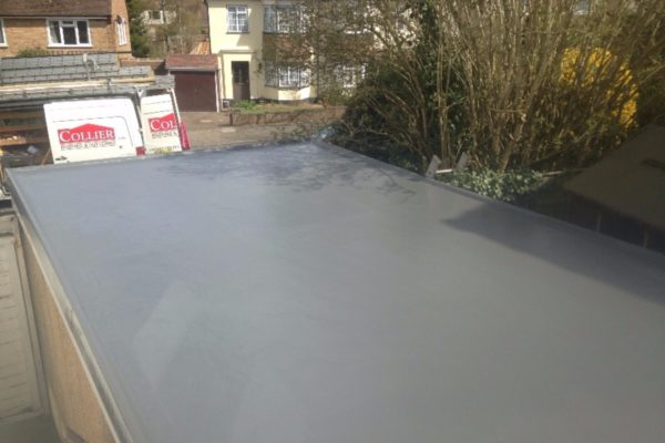 Fibreglass roofing in Oxted