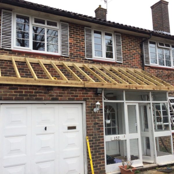 Flat to Pitched Roofs