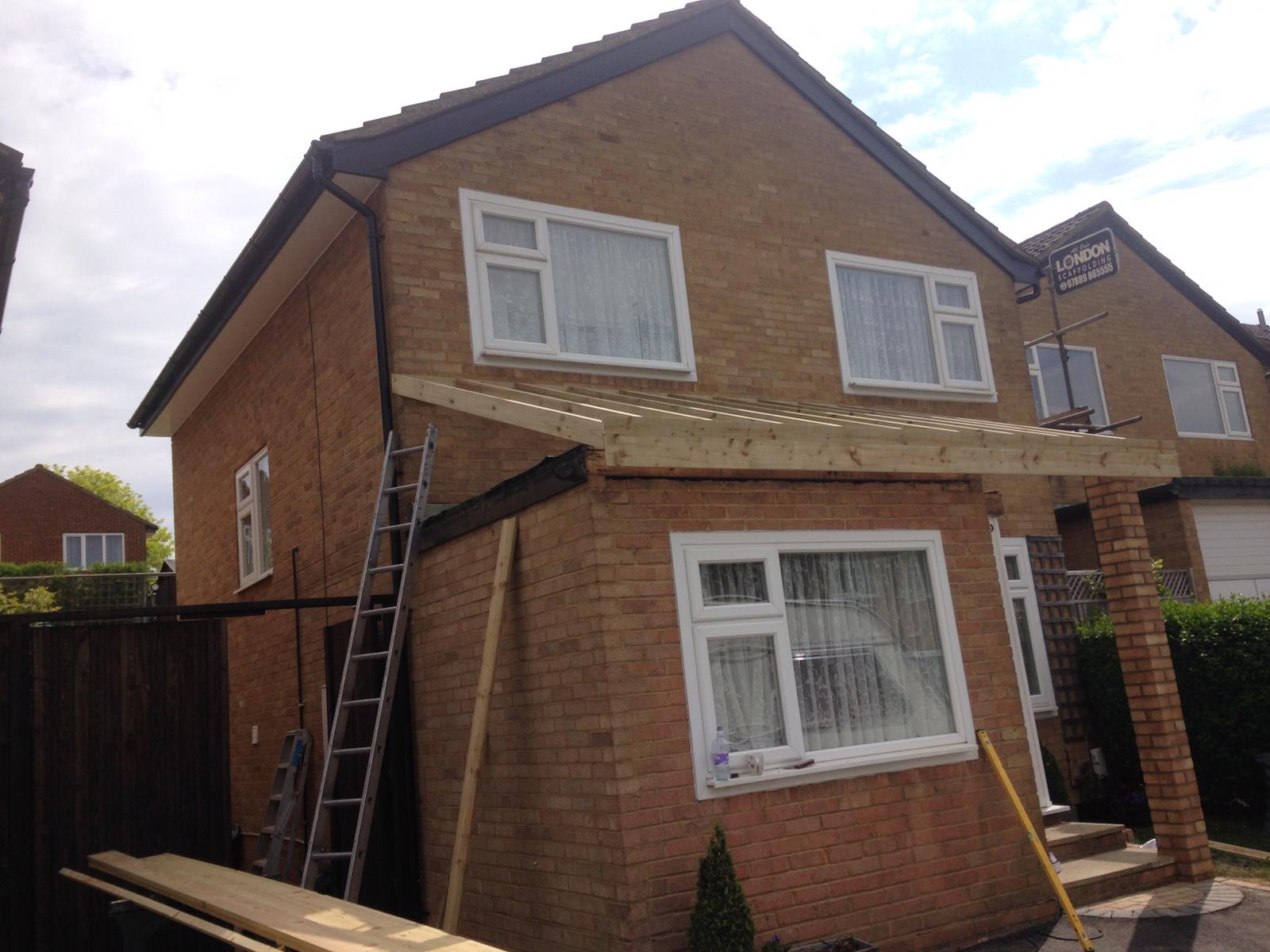 Flat To Pitched Roof Service Roofing Conversions For London Surrey