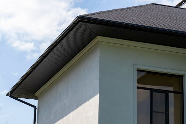 Fascias and soffits cleaning